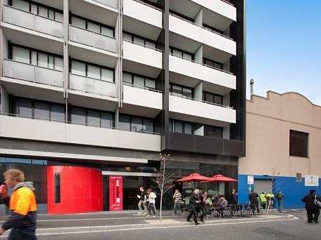 Student Accomodation at UniLodge D2, RMIT Campus, Melbourne.