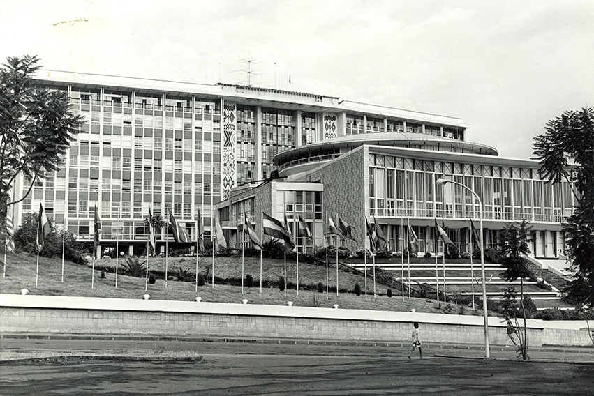 The building, constructed in 1961, is the original UNECA conference facility for Africa and the project will undertake a complete conservation and renovation to provide modern facilities.