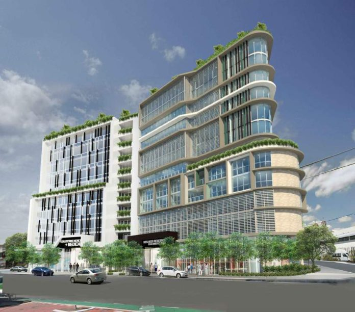Artist's impression of CHAW's integrated healthcare project