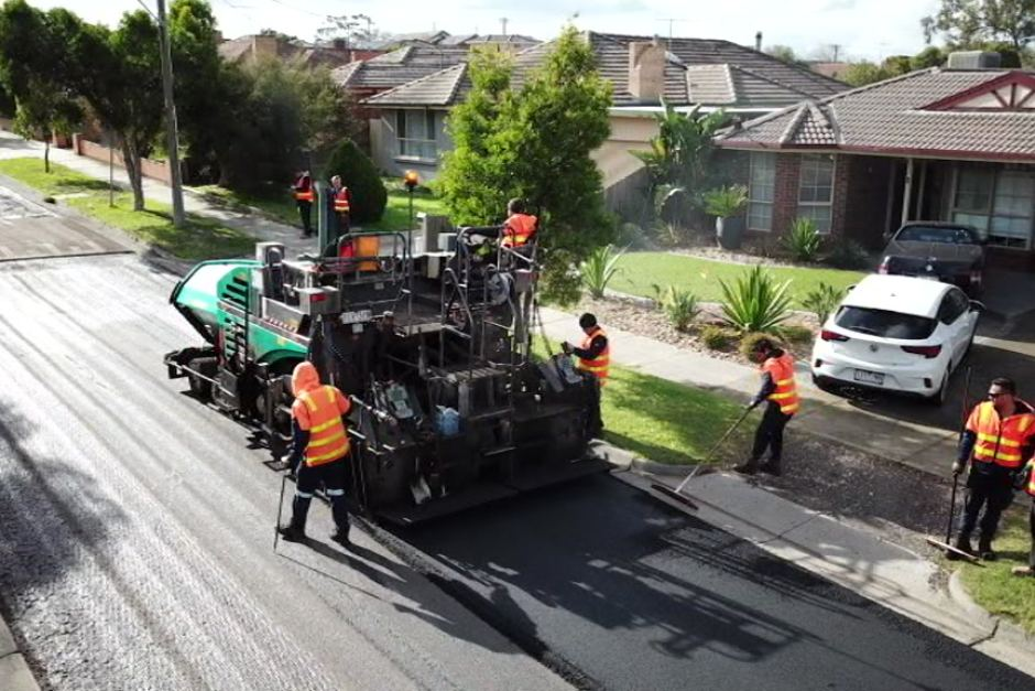 Can plastic roads help save the planet? Plastic bags, glass and old printer cartridges will be used to build a Craigieburn road. Image courtesy of Close the Loop.