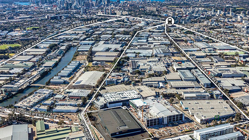 ▲ The 520-530 Gardeners Road Alexandria site sold to Charter Hall for $70 million.