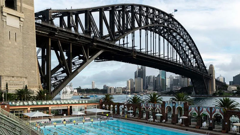 ▲ North Sydney Olympic Pool