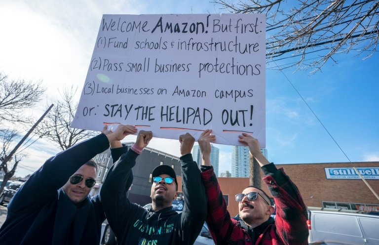 Amazon Protestors1
