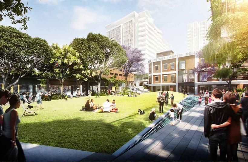 West Village Brisbane west end development project