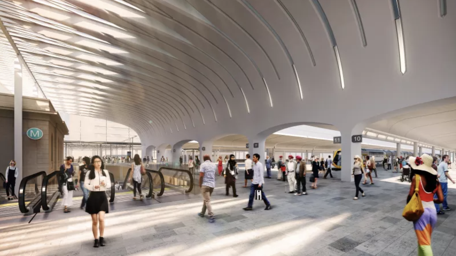 Sydney Central Station is currently undergoing a $955 million urban transformation.
