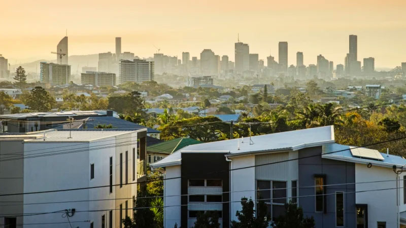 The ban comes as Brisbane's temporarily oversupplied apartment market has begun to level out.