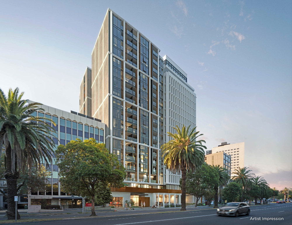Marshall White Projects launched its new arm, Marshall White Living, commencing with its first project, The Grace at Albert Park Lake, a $120 million high rise near Melbourne CBD catering to the over-55 market.