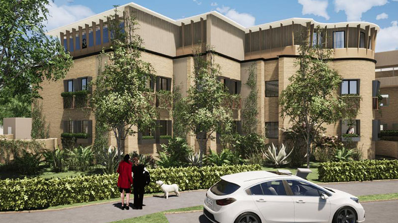 ▲ Landcom has plans to transform a former health centre into a low-scale residential development with an affordable housing component in North Manly on the northern beaches.