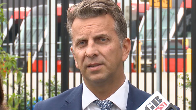 ▲ NSW transport minister Andrew Constance says state government has entered into a revised public-private partnership with ALTRAC for the CBD and South East Light Rail project.