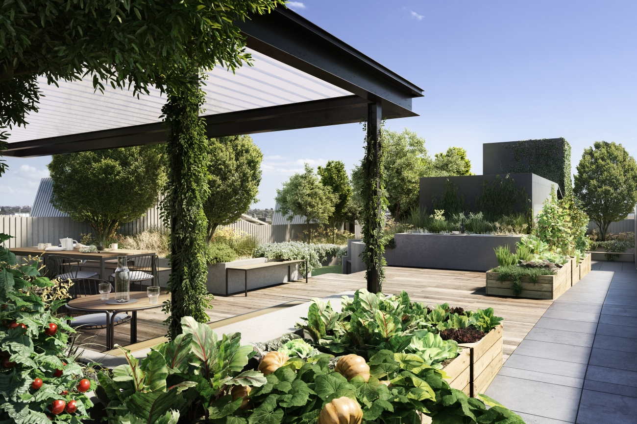 Milieu's Liveability Survey found that while productive gardens with rooftop beehives and petfriendly areas were top features on apartment purchaser's wish lists.