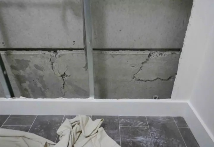 ▲ Cracks in Opal Tower at Sydney Olympic led to the building being evacuated and the introduction of the new bill.