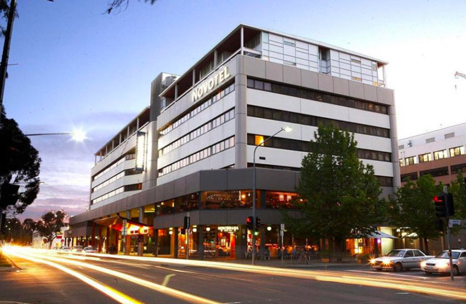 The 4.5 star Novotel Canberra has 268 rooms.