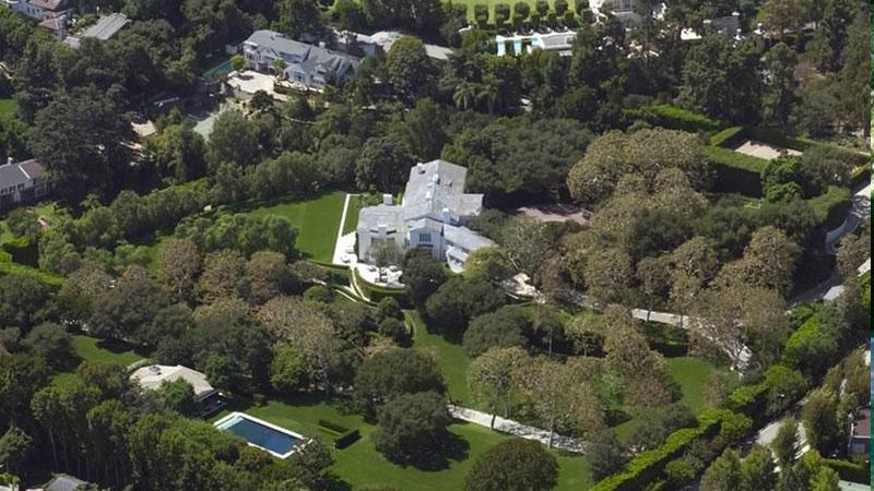 Geffen David, 1801 Angelo Drive, Beverly Hills