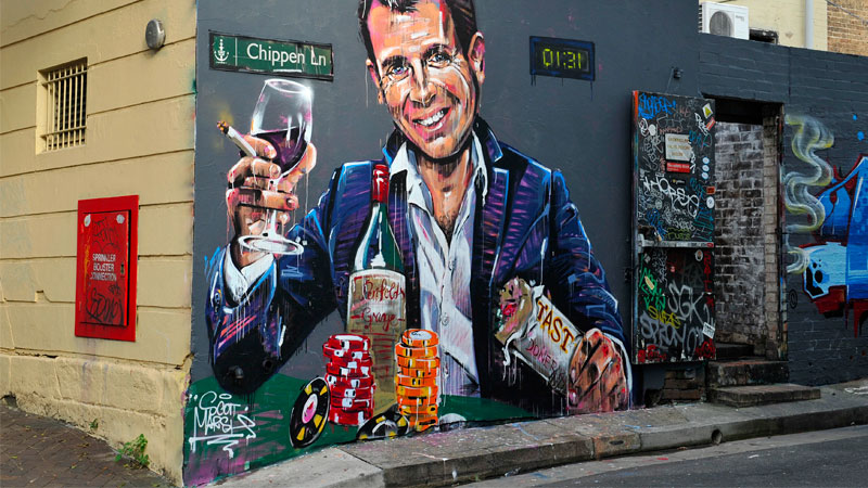 ▲ The laws were introduced in 2014 by Barry O'Farrell and while he was not the instigator, predecessor Mike Baird was widely accused of killing Sydney's nightlife. Image: Scott Marsh
