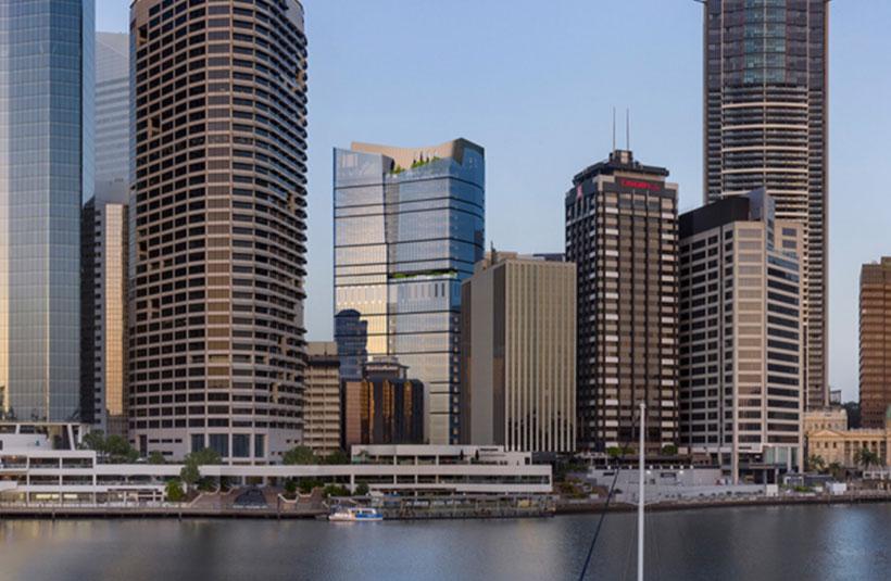 360 Queen Street Charter Hall Investa development project Brisbane