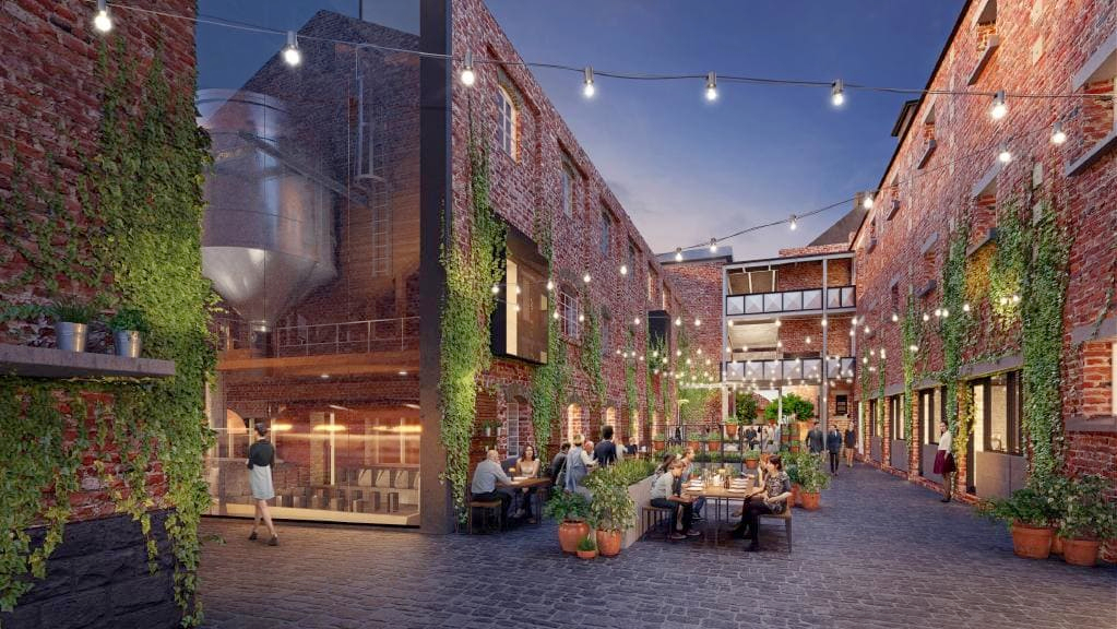 An artist's impression of the Coppins Corner development owned by Developer Caydon Property Group.
