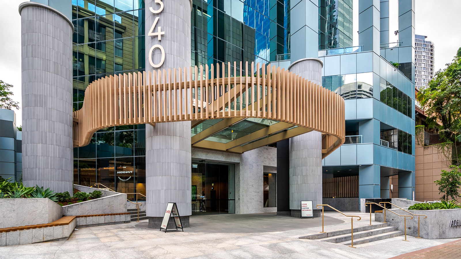 It is 93 per cent2 leased to customers including Covermore, Cerebral Palsy League and Oracle, and has a weighted average lease expiry of 3.8 years.