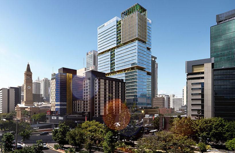 80 Ann Street Brisbane Mirvac development project construction