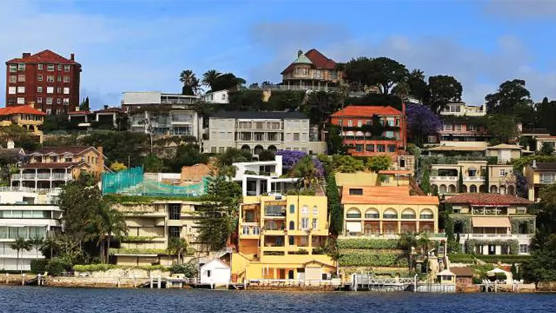 Point Piper. Australia luxury residential property market