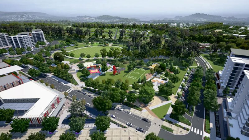 The Queensland Government has approved the development of 1700 new lots in the $6.7 billion satellite city development Flagstone.