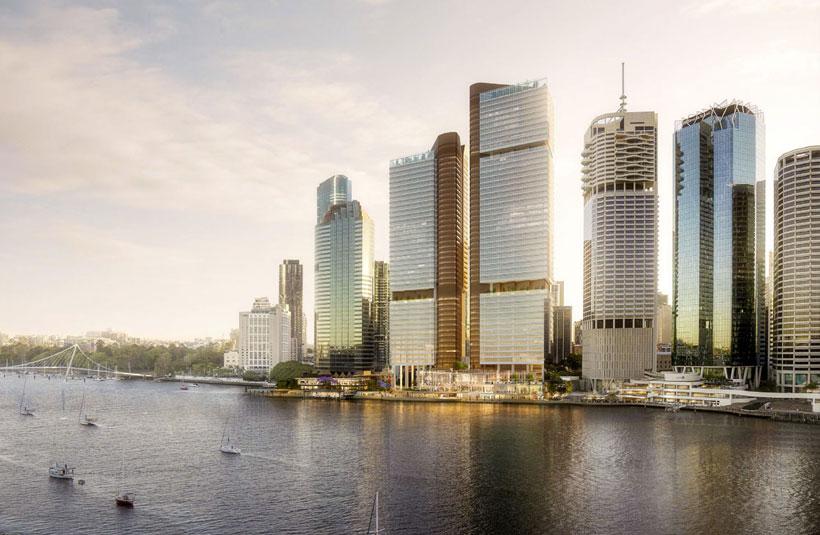 Waterfront Place Dexus development project Brisbane