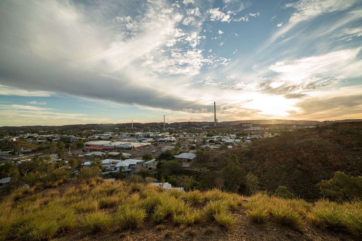 Mount Isa suburb Sunset recorded a drop of 27.9 per cent for the period.