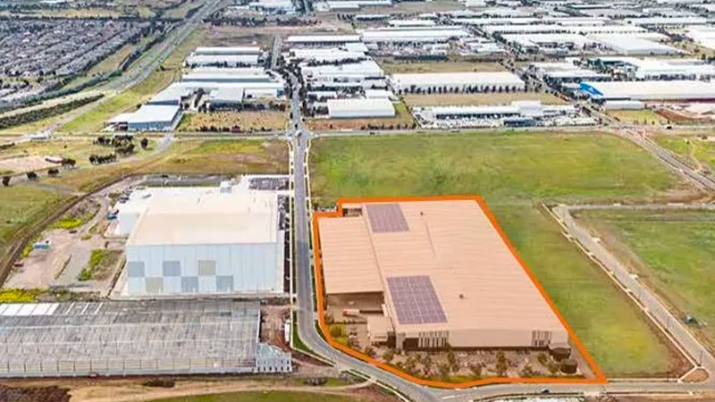 ▲ Stockland's $44 million KeyWest Distribution Centre, in west Melbourne.