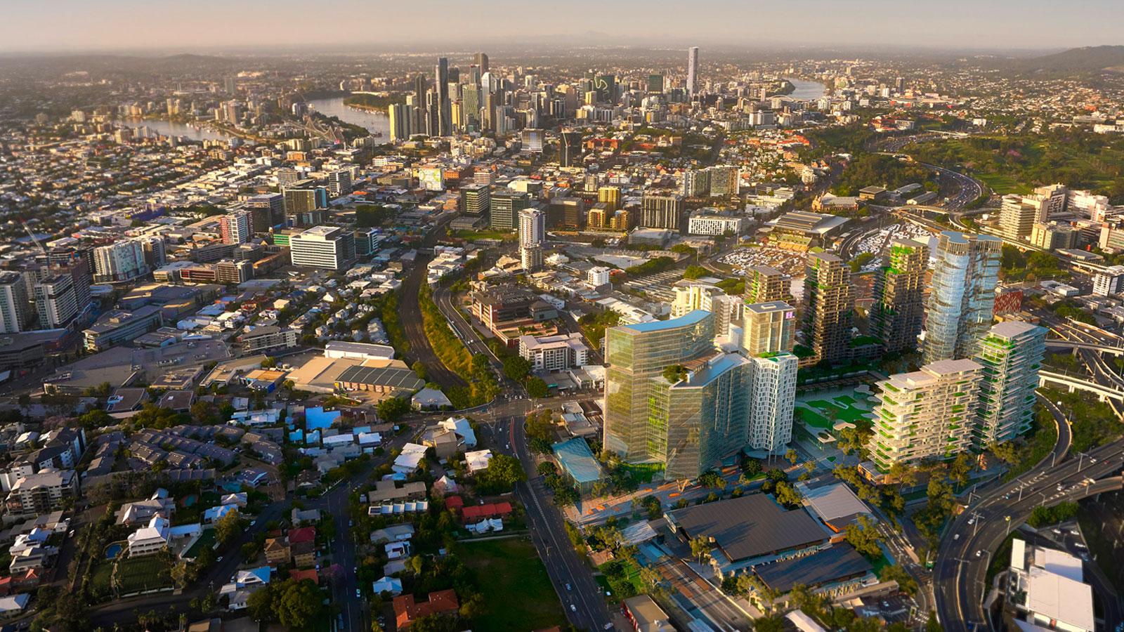 Millennium Square Major development projects Brisbane
