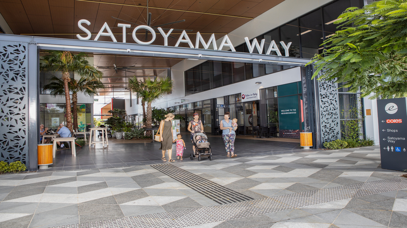 ▲The Ripley Town Centre masterplan vision is of a community based on walkability and transit to enable seamless connectivity to life's necessities—healthcare, education, retail, commercial, and recreational and community facilities.