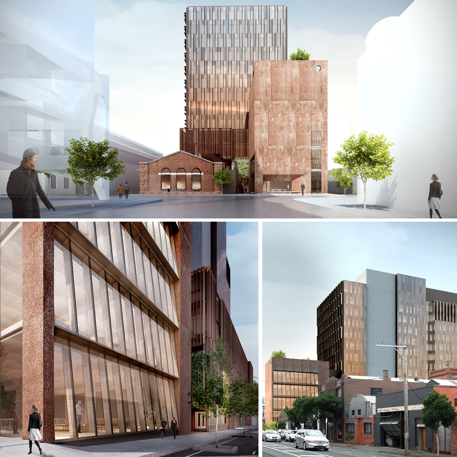 VCAT gave planning approval to the project in mid-2017, overturning the initial Yarra City Council decision to reduce the scale and height of the building.
