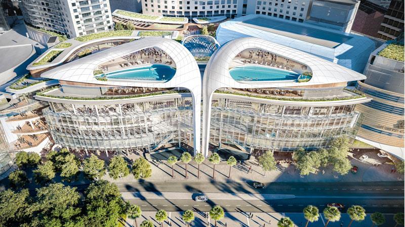 The Ritz-Carlton hotel at The Star casino in Sydney