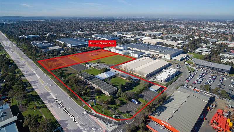 ▲ The 254 Wellington Road site has received planning approval for 60,000sq m of commercial space, a 752sq m retail area and 2,497 car spaces. Image: Supplied