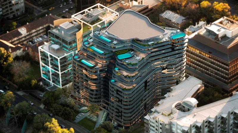 Victoriana - 20 Queens Road, Melbourne - Apartments