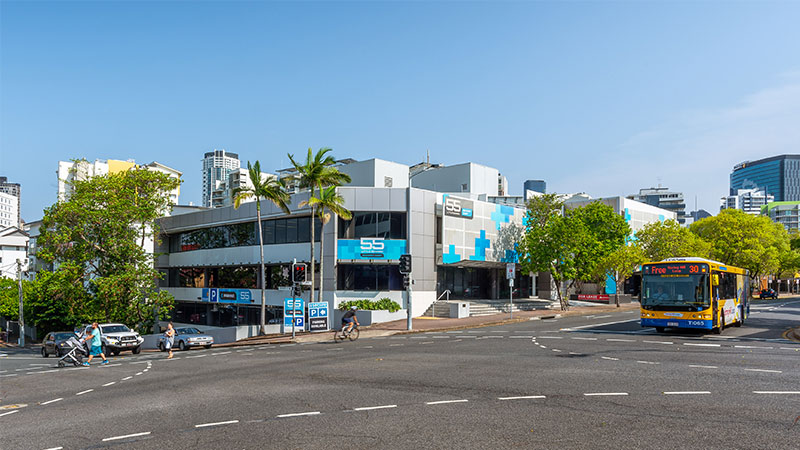 Image of 55 Little Edward Street in Brisbane's Spring Hill, purchased by Elanor Investors Group as part of a $123.3m deal to seed its new unlisted health care fund.