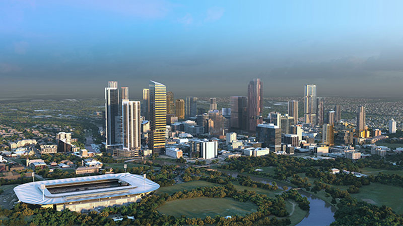 ▲ It is understood the vision for Parramatta's future will be unveiled by NSW Planning within the next few weeks.