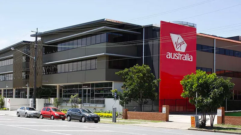 Virgin Australia's headquarters in Brisbane's Bowen Hills.