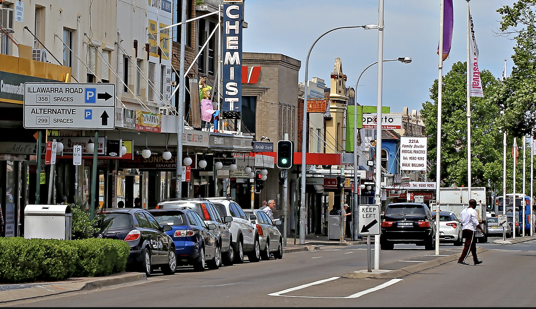 AMP says Marrickville's estimated growth of 1.5 per cent per annum will see its population grow to 440,000 by 2021.
