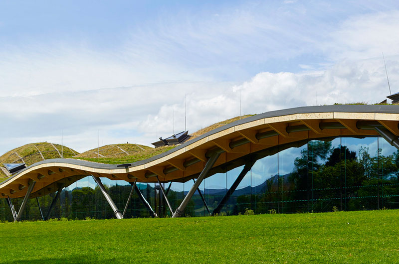 Completed Building Production, Energy & Recycling:Rogers Stirk Harbour + Partners - The Macallan Distillery and Visitor Experience, Craigellachie, United Kingdom