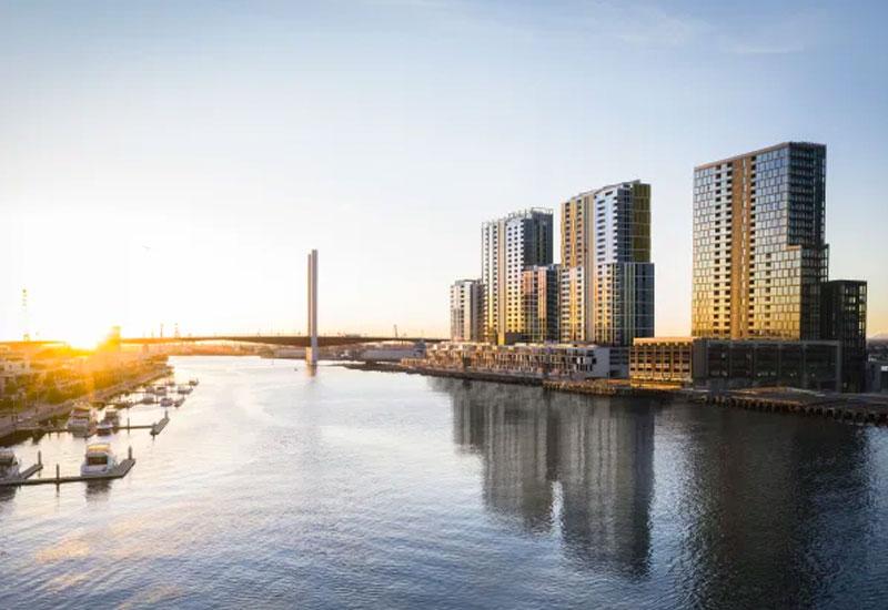 Collins Wharf Melbourne Lendlease development project
