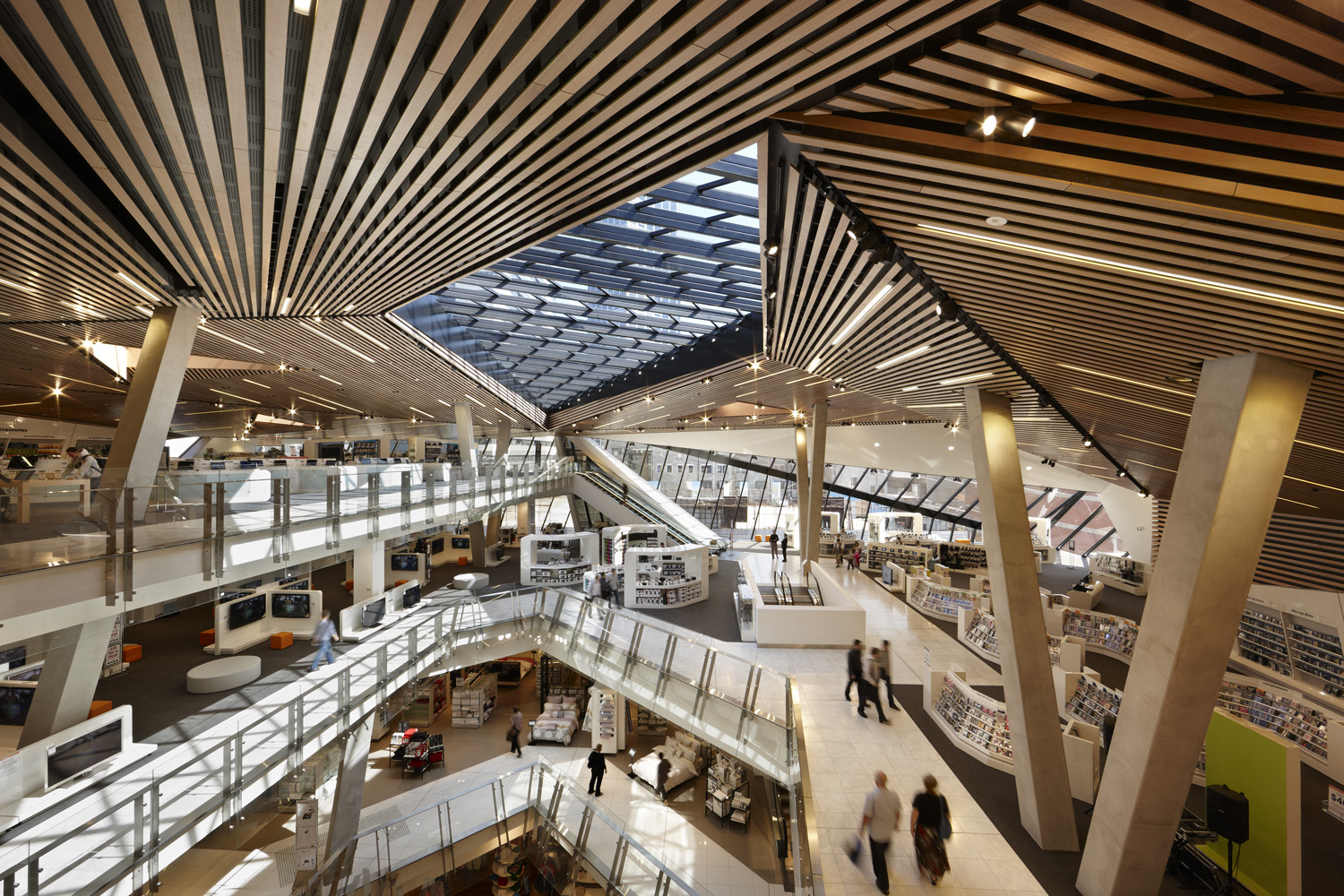 Myer Bourke Street Redevelopment by NH Architecture.