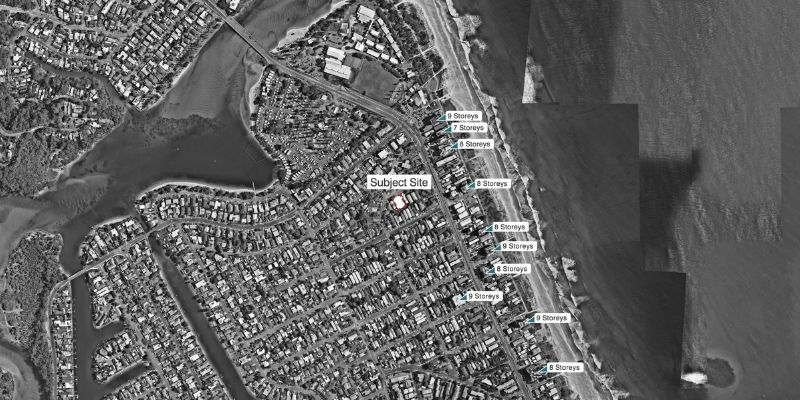 ▲ Gold Coast Development. Plans for 45 apartments to be added to Palm Beach have been lodged with Gold Coast council.