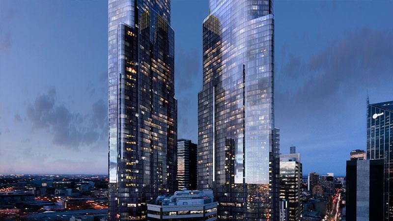 Melbourne major development projects - Queens Place Melbourne by 3L Alliance