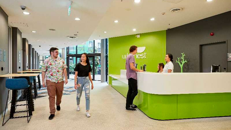▲ The first of the Urbanest building opened in Brisbane in 2010 and was the first generation of PBSA in Australia. The addition opened in Darling Square in Sydney in 2018 and on Swanston Street in Melbourne in 2019.
