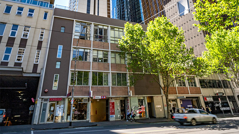 ▲ Melbourne Domain has strata-titled the units and retained ownership of the ground and top floors—effectively selling the air rights and future development potential. Image: Supplied