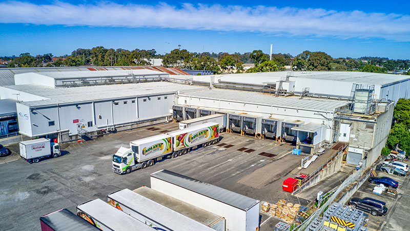 ▲ The Derrimut facility in Victoria was purchased for $49 million. Lead image, the facility in Girraween secured for $73.1 million.