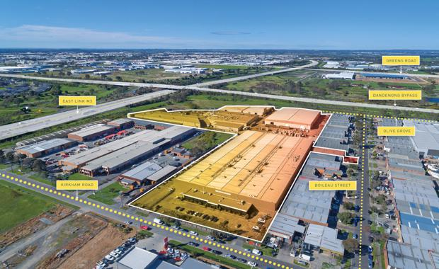 Keysborough industrial property, Melbourne