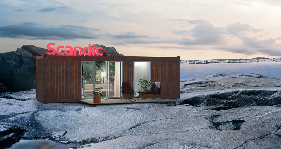 Scandic Hotels Group: Scandic Pod. Ever wished your hotel was better located? A Nordic hotel operator is offering that experience – transporting pod-type mobile hotel rooms to customers in 40 different locations throughout Scandinavia.