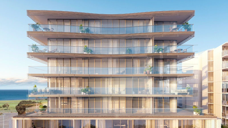▲ AVJennings said the topping out of its Empress apartment building in Williamstown would put it in good stead heading into FY21. Image: Elenberg Fraser