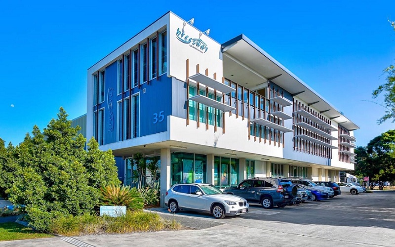 ▲ Breezway state headquarters at 35 Cambridge Street, Coorparoo will join Centuria's industrial assets.