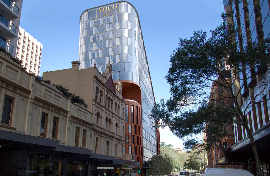 Voco Sydney Central will mark the brand's fifth Australian location.